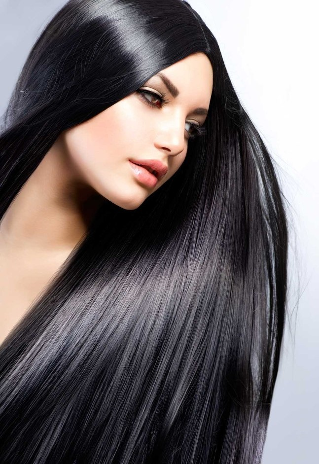 Изменить цвет и длину волос i
